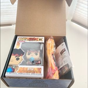 Funko POP RYU Street Fighter BOX SET